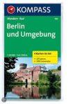 700. Berlin és környéke turista térkép Kompass 1:50 000