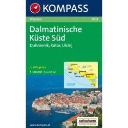 2903. Dél-Dalmácia térkép Kompass 1:100 000