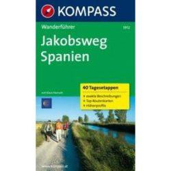 5912. Jakobsweg Spanien túrakalauz Wanderführer