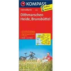 3003. Dithmarschen, Heide, Brunsbüttel kerékpáros térkép 1:70 000  Fahrradkarten