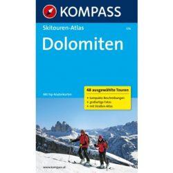576. Dolomiten, Skitourenatlas túraatlasz Wanderatlanten