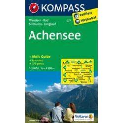 027. Achensee turista térkép Kompass 1:35 000