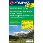 89. Domodossola turista térkép Kompass 1:50 000