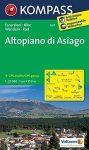 623. Altopiano di Asagio turista térkép Kompass 1:25 000