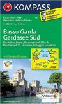 695. Basso Garda turista térkép Kompass 1:25 000