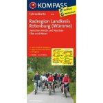 3010. Rotenburg, Radregion Landkreis, (Wümme) kerékpáros térkép 1:70 000  Fahrradkarten