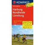 3011. Harburg, Nordheide, Lüneburg kerékpáros térkép 1:70 000  Fahrradkarten