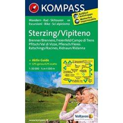 44. Sterzing, Vipiteno turista térkép Kompass 1:50 000