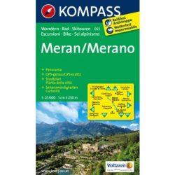 053. Merano turista térkép Kompass 1:25 000