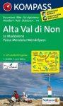 147. Alta Val di Non, Le Maddalene, Passo Mendola, 1:25 000 turista térkép Kompass