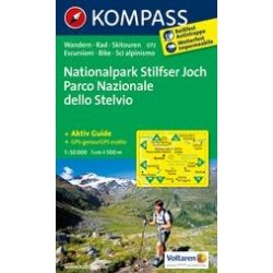 072. Parco Nazionale dello Stelvio turista térkép Kompass 1:50 000