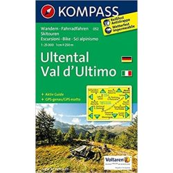 052. Ultental, Val d'Ultimo turista térkép Kompass 1:25 000