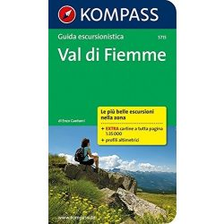 5715. Val di Fiemme túrakalauz olasz nyelven