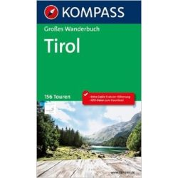 1620. Tirol útikönyv Grosse Wanderbücher