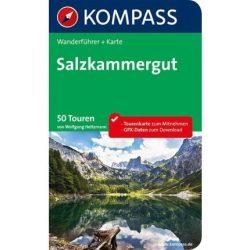 5627. Salzkammergut m. Karte túrakalauz Wanderführer