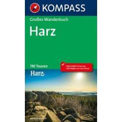 1605. Harz útikönyv Grosse Wanderbücher