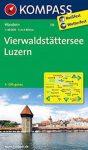 116. Vierwaldstattersee turista térkép Kompass 1:50 000 Luzern  turista térkép