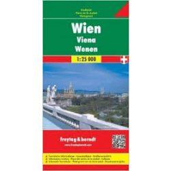 Bécs térkép, 1:25 000 Freytag térkép PL 2