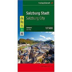 Salzburg city térkép Freytag & Berndt 1:15 000  Salzburg várostérkép