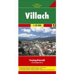 Villach térkép Freytag & Berndt 1:20 000