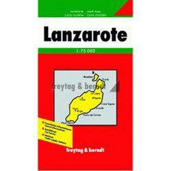 Lanzarote térkép Freytag 1:75 000