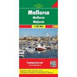 Mallorca térkép, 1:100 000  Freytag AK 0507