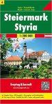 Ausztria 4 Stájerország térkép, 1:200 000 Freytag térkép OE 4