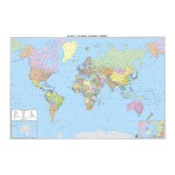 Világ országai falitérkép keretezett Freytag 1:35 000 000 122x86,5