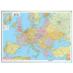 Európa falitérkép politikai, műanyaghengerben, 1:3 500 000, (124 x 87,5 cm)  Freytag AK 22 P  2016