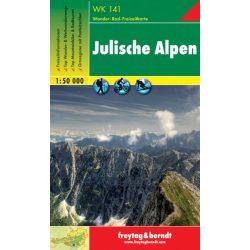 WK 141 Júliai Alpok turista térkép Freytag 1:50 000