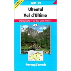 WKS 11 Brenta turista térkép Freytag 1:50 000