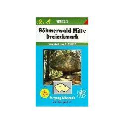 WKCZ 3 Böhmerwald-Mitte turista térkép Freytag 1:50 000