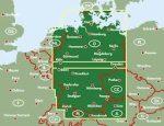 Németország térkép keményborítóban, 1:500 000  Freytag térkép AK 0205