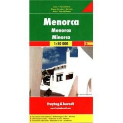 Menorca, 1:50 000  Freytag térkép AK 0509