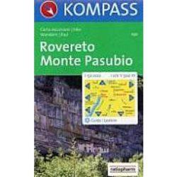 101. Rovereto Monte Posubio turista térkép Kompass 1:50 000