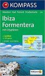 239. Ibiza, Formetera térkép Kompass 1:50 000
