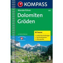 989. Dolomiten, Gröden túrakalauz Wanderführer
