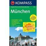 424. München Cityplan, 1:22 500 várostérkép