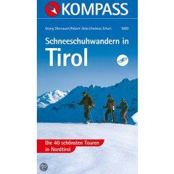 1860. Tirol, Schneeschuhwandern in túraatlasz Wanderatlanten