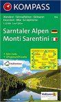 056. Sarntaler Alpen/Monti Sarentini, 1:25 000, D/I turista térkép Kompass