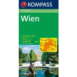 434. Wien Gesamtplan, 1:20 000 várostérkép