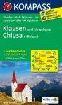059. Klausen és környéke, Chiusa e dintomi turista térkép Kompass 1:25 000