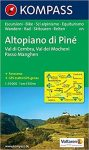 075. Altopiano di Piné turista térkép Kompass 1:35 000