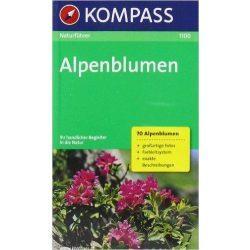 1100. Alpenblumen természetjáró könyv Naturführer