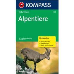 1101. Alpentiere természetjáró könyv Naturführer
