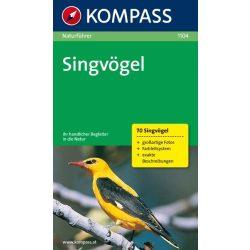 1104. Singvögel természetjáró könyv Naturführer