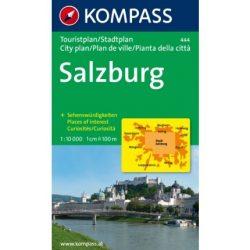 444. Salzburg Touristplan, 1:10 000, 30er Box várostérkép