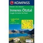 042. Inneres Ötztal turista térkép Kompass 1:25 000
