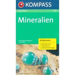 1106. Mineralien természetjáró könyv Naturführer