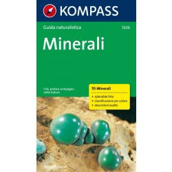 1206. Minerali/Mineralien túrakalauz olasz nyelven